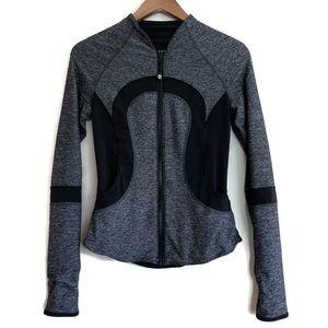Lululemon Find Your Bliss reversible zip jacket